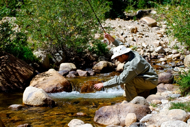 Tilley Hat Fly Fishing 1