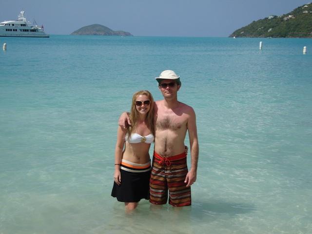 Tilley Hat in Virgin Islands