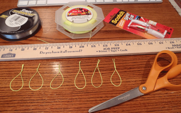 How-to-make-tenkara-level-line