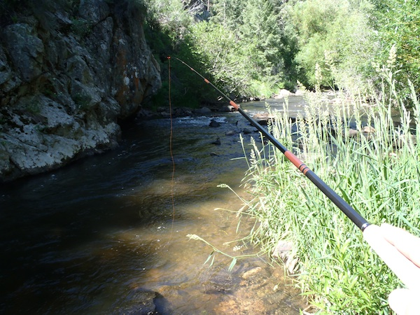 Tenkara Bum Level Line Visibility
