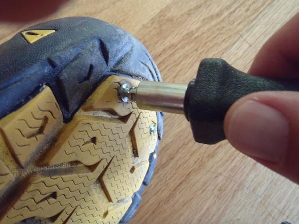Installing Grip Studs