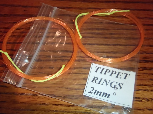 Tenkara Level Line with tippet ring 2