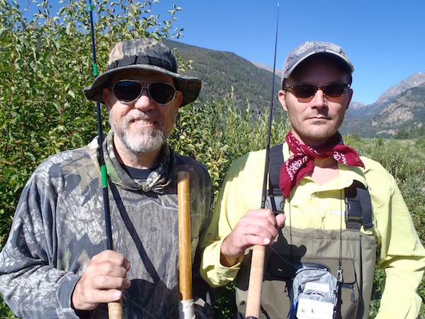 Chirs Stewart and Jason Klass in Rocky Mountain National Park
