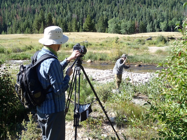 Filming the tenkara documentary