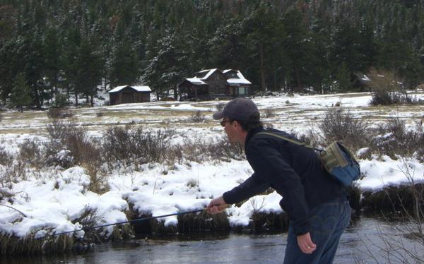 Winter Tenkara Fishing