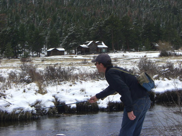 Tenkara Winter Fishing