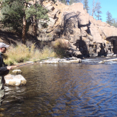 """Tenkara Fishing"" vs. ""Fishing with a Tenkara Rod"""