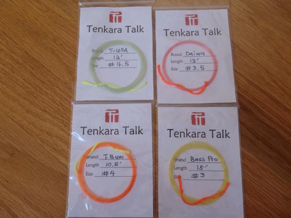Tenkara Level Lines