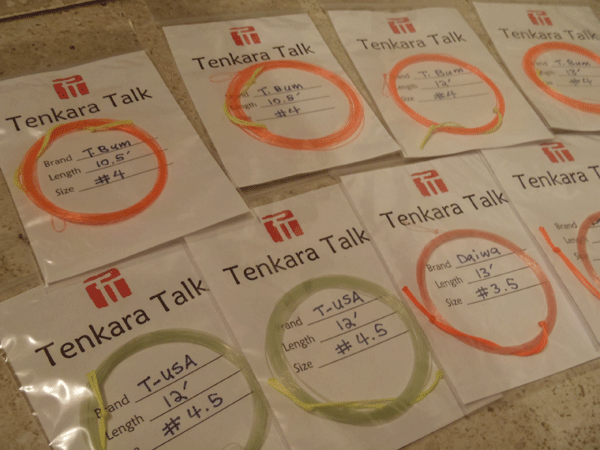 Tenkara Line Storage
