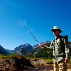 Tenkara Rod Action