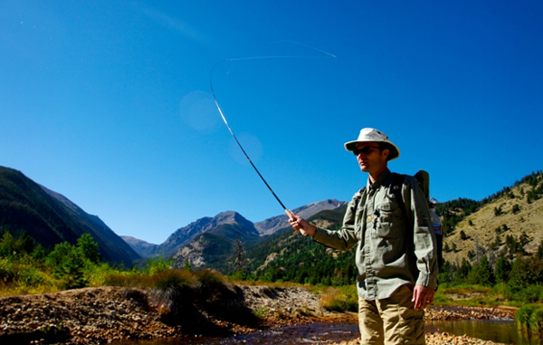 Tenkara-Rod-Action