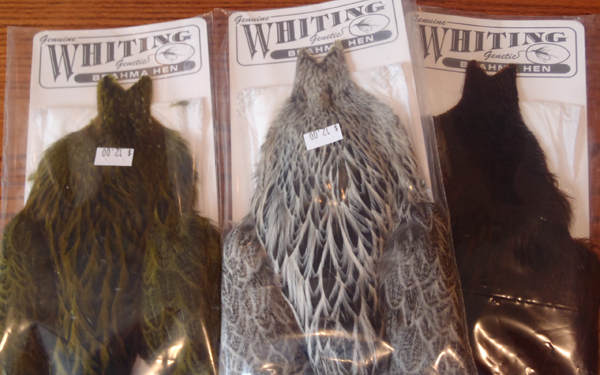 Whiting Brahma Hen Hackle