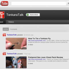 TenkaraTalk is Now on YouTube!
