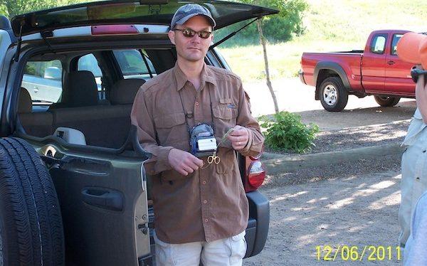 Jason Klass on Bear Creek