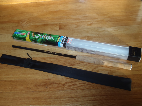 Nissin Prosquare Tenkara Rod Sack & Packaging