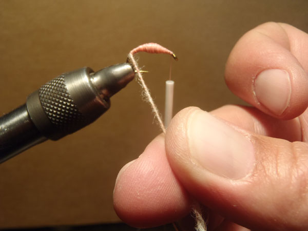How to tie the killer bug step 5