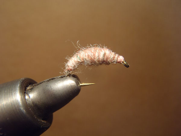 How to tie the killer bug step 8