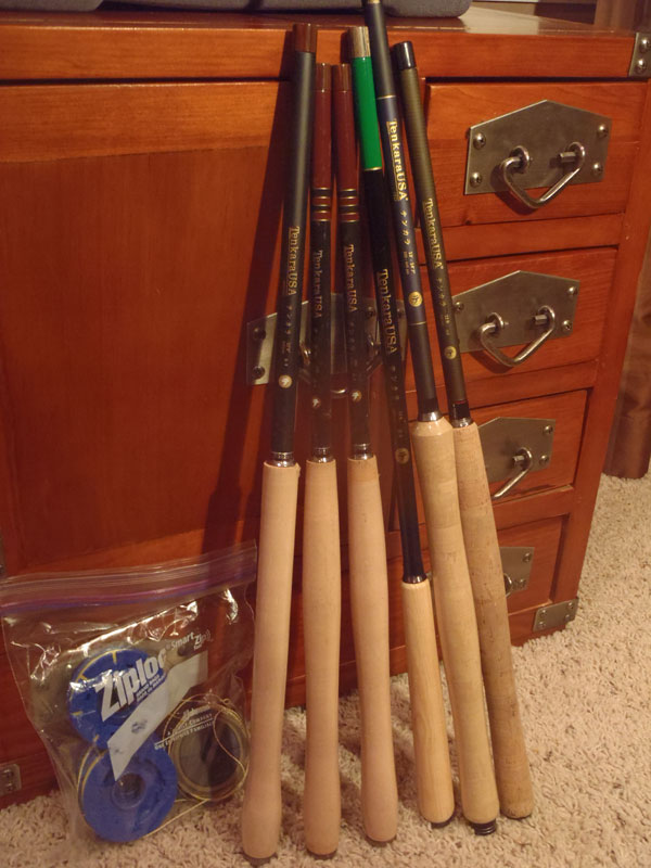 Tenkara rods for demo program