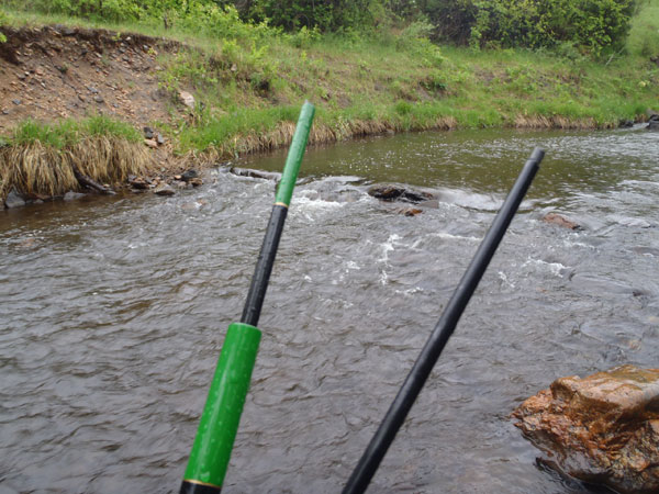 Broken Tenkara Rod