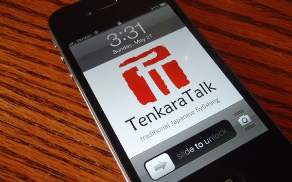 TenkaraTalk iPhone Wallpaper