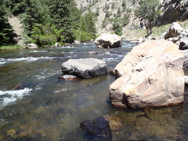 A nice pool on Clear Creek