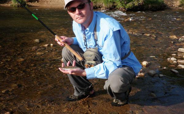 Tenkara on Boulder Creek