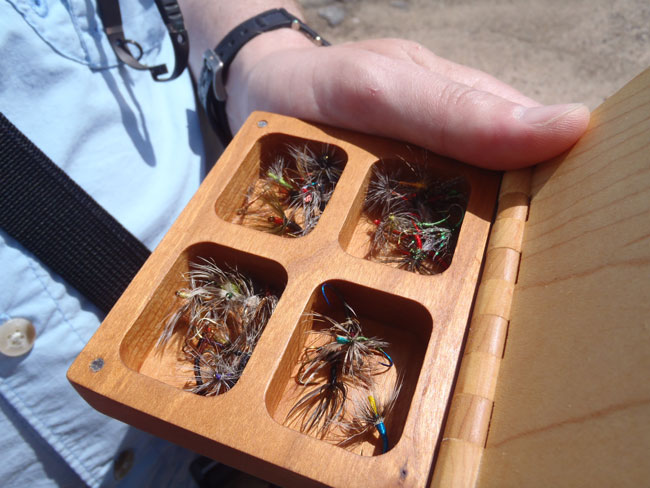 Karel's fly box