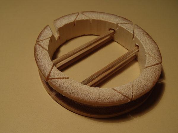 Handmade Bamboo Tenkara Line Spool