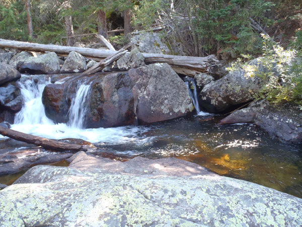 North Inlet Creek Waterfall