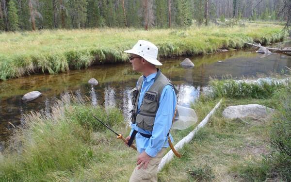 Jason Klass wearing a vest
