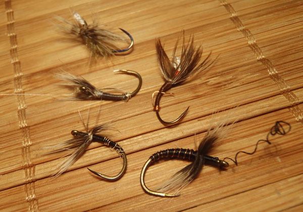 Recycling fly tying hooks tenkara