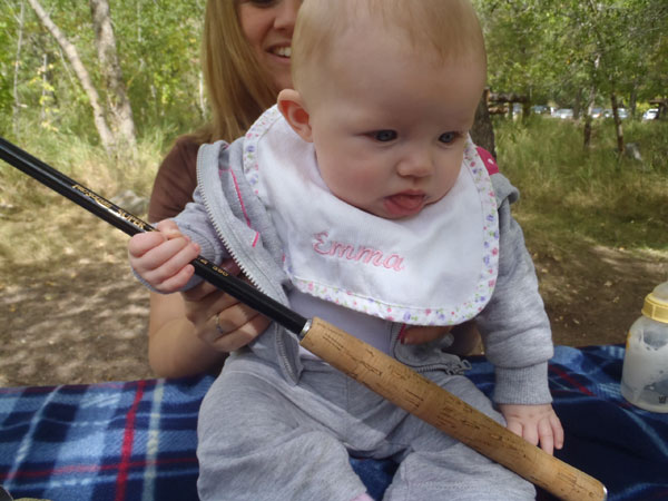 Emma Olivia Klass - the world's youngest tenkara angler