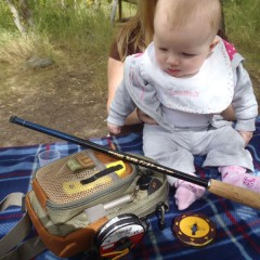 A Picnic, The World's Youngest Tenkara Angler, & Dissing Conservation