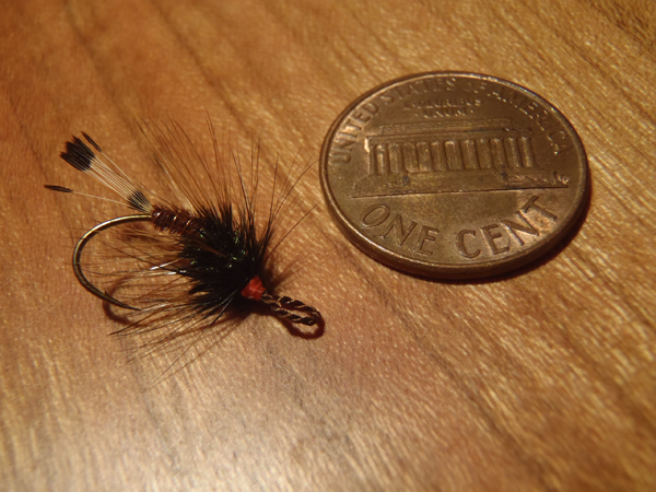 Palmered Tenkara Fly