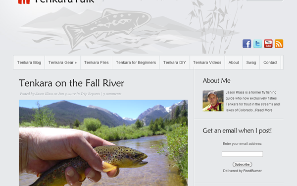 Tenkara Talk Website