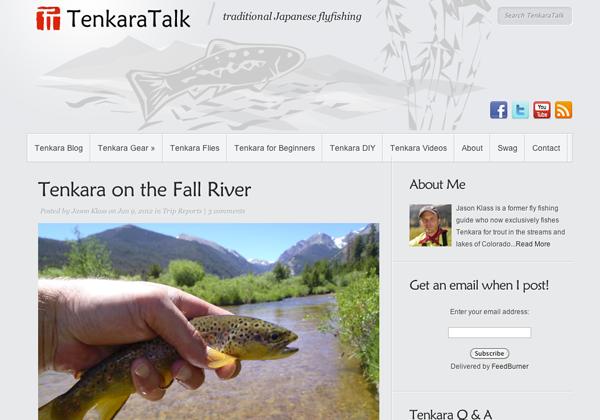 Tenkara Talk Website