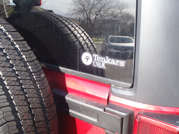 Tenkara USA Sticker