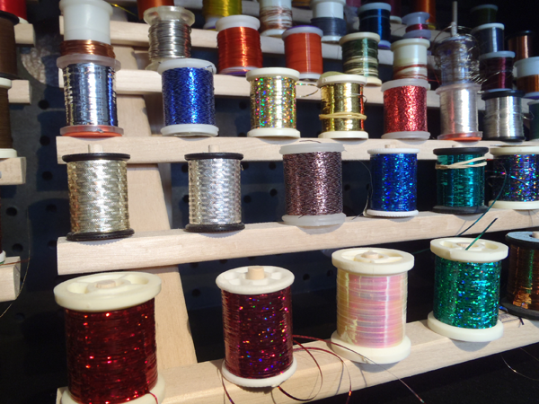 Mylar Tinsel for Fly Tying