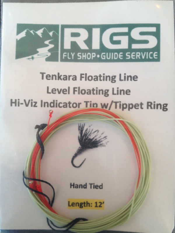 Rigs Floating Tenkara Line