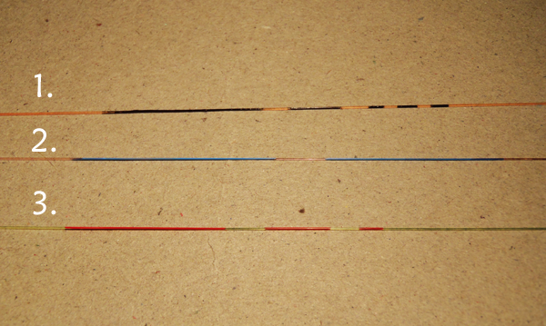 Tenkara Line Marking System