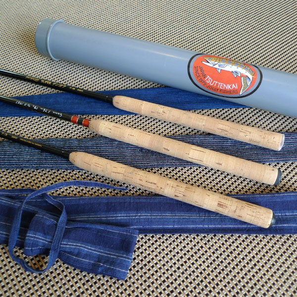 Fujioka's modified tenkara rods