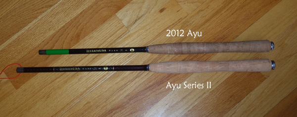 2012 Ayu vs. Ayu Series II Closed