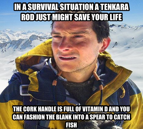 Bear Grylls Tenkara