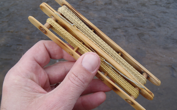 Bamboo Tenkara Line Holder
