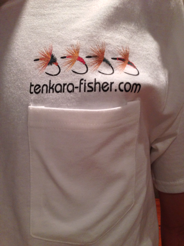 Tenkara Fisher T-shirt (front)