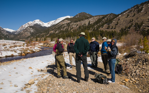 Tenkara Presentation to the Poudre Wilderness Volunteers