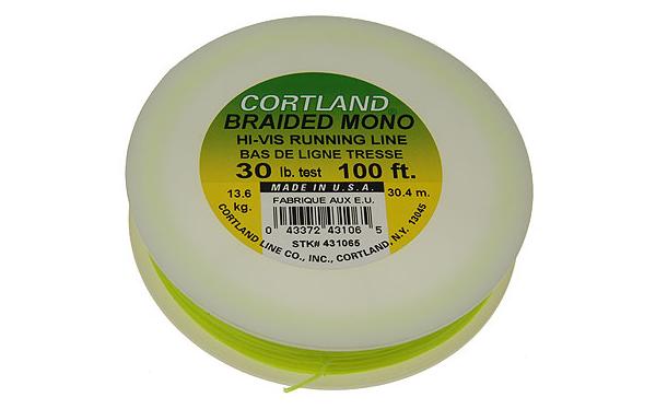 Cortland Braided Mono Running Line for Tenkara