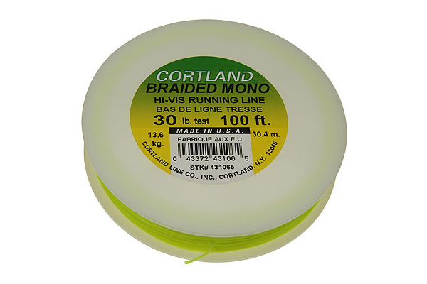 Cortland Braided Mono Running Line for Tenkara