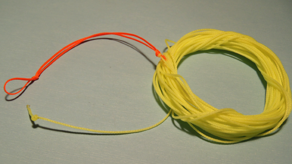 Cortland braided line for tenkara
