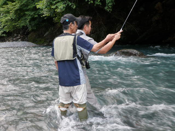Go Ishi with Tenkara no Oni